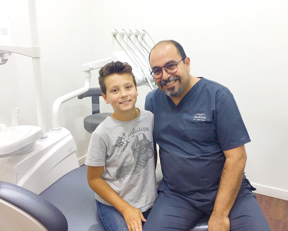 Odontopediatría en verdental